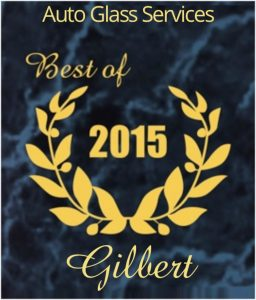 Gilbert Auto Glass Services Best of 2015 Award