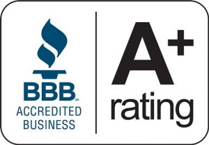 BBB-Accredited-Business-A+ Rating